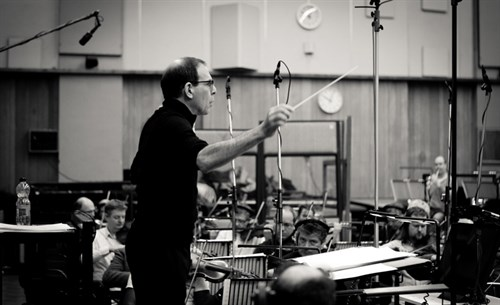 "Recording ""42"" by Mark Isham at Abbey Road Studios ©2013 B Eolavega"