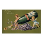 Vintage Angels With Champagne A Happy New Year Poster R7dd18e12fd4e447abdef0cb79f6a2850 7Tih 8Byvr 512